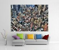 NEW YORK SKYSCRAPERS GIANT WALL ART PICTURE PRINT POSTER H233