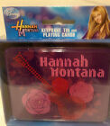 DISNEY HANNAH MONTANA KEEPSAKE TIN & PLAYING CARDS BRAND NEW SEALED DECK