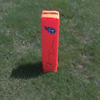 Tennessee Titans KENDALL WRIGHT Signed Autographed Football Pylon COA! PROOF