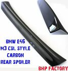 BMW E46 M3 2DOOR REAR BOOT TRUNK SPOILER CSL STYLE CARBON FIBRE Z1006