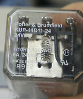 Potter & Brumfield KUP-14D11-24 relay 24vdc 3PDT  Ships $2.00 in USA tomorrow!