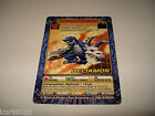 BANDAI DIGIMON CARD BO-140 DELTAMON -FREE COMBINED SHIPPING-GREAT CONDITION