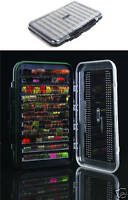 Wychwood Vuefinder Competition XL Double Ripple Foam Fly Box, Trout Flies