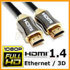 6 FT Feet HDMI 1.4 2160P 4K High Speed Cable for 3D HD LED TV Blu-Ray DVD PC PS3