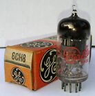 Vintage GE ELECTRONIC TUBE 6CH8  in Original Box NEW OLD STOCK