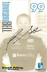 2012 TOWNSEND BELL signed INDIANAPOLIS 500 PHOTO CARD POSTCARD INDY CAR HONDA wC