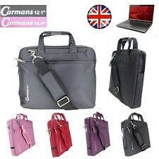 "10-16"" WIDESCREEN PADDED LAPTOP BAG NOTEBOOK CARRY CASE SHOULDER STRAP BRIEFCASE"