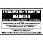 Bammo Monte Monster Reloaded by Bob Farmer deck playing cards magic trick gaff