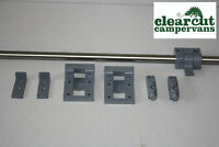 Campervan Table Kit, Reimo Sliding Table Rail, VW T5, T4, Motorhome/Caravan
