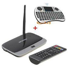 Quad Core RK3188 TV Box + Keyboard Fly Mouse Android HDMI Miracast Wifi Touchpad