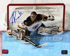 Tuukka Rask Boston Bruins Signed Autographed Overhead Stick Action 16x20