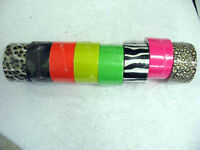 DUCT TAPE IN NEON COLORS OR PRINT NEAT FOR SCRAPBOOKING OR OTHER PROJECTS