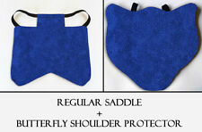 2 Blue Specks Chicken Saddle Hen Apron Chicken Wing Poultry Back Protector