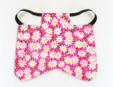 Pink Daisy Wide Chicken Saddle Hen Apron Chicken Poultry Back Protector