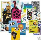 1930-2014 World Cup Poster POSTCARD Complete Set