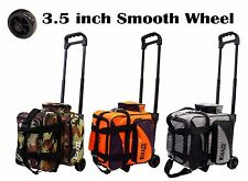KAZE SPORTS Deluxe 1 Single One Ball Deluxe Roller Bowling Tote Travel Bag