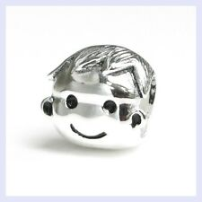 STR Silver Love Brother Boy Family Kid Child Bead for European Charm Bracelet