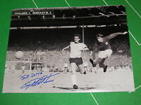 England Rare Geoff Hurst Signed & Inscribed 1966 World Cup Final Hat-Trick Photo