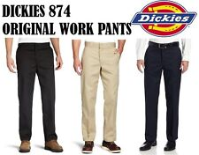 Dickies 874 PANTS Men Original Fit Classic All Colors Work Uniform Bottoms