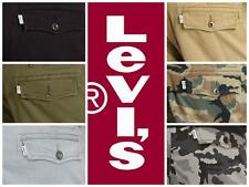 Levi's Men's Relaxed Fit Ace Cargo Pants Camo Black Beige Grey Green New w/ Tags