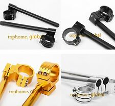 31/33/35/36/37/39mm Fork Clip-ons Handle Bar CNC Pair Riser Regular Handlebar