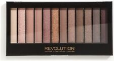 MAKEUP REVOLUTION 12 Eyeshadow Palette ICONIC 3 Naked Nude Neutral Shades!!!