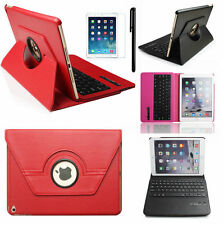 360° Rotating Swivel Bluetooth Keyboard Leather Case Cover For iPad Air 2 IPAD 6