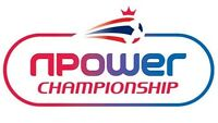 N Power Championship Football Mugs & Coaster with Club Logo Free Delivery