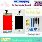 FOR WHITE IPHONE 4 REPLACEMENT SCREEN LCD DIGITIZER+OPENING TOOLS KIT