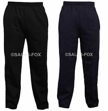 UNISEX FLEECE JOGGERS TRACKSUIT SPORTS CASUAL GYM WORK JOGGING BOTTOMS TROUSERS