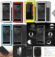 Waterproof Shockproof Aluminum Gorilla Metal Cover Case For SONY phone