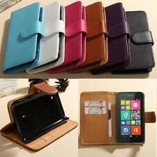 Nuovo Slim Flip Cover Custodia Cover Case Stand Per Nokia Lumia 530 N530