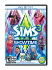 The Sims 3 & Showtime Expansion Pack (PC, 2012) BRAND NEW FACTORY SEALED
