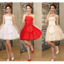 Sexy Women's Mini Dress Wedding Bridesmaid Prom Party Evening Short Formal Dress