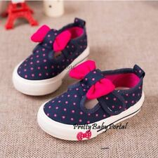 NEWFashion Baby Toddler'sGIRLS Polka dot Sports Casual Canvas Sneakers Shoes