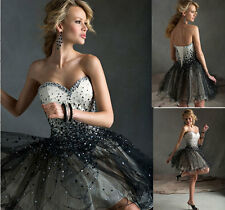 Black Short Cocktail Dress Party Dresses Evening Formal Bridesmaid Prom Dresses