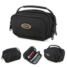 Nylon Water-Resistant Shoulder Waist Camcorder Carry Case For Panasonic