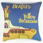 The Beatles Yellow Submarine Pillow Case Decor Cushion Cover Square 45cm PQ155