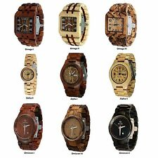 Wood Watches - A Selection of the Most Popular Wood Watch Styles
