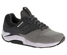 Mens Saucony Grid 9000 Grey/Charcoal Running Shoes Sneakers Size 7-14 S70077-39