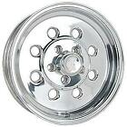 "SET 4 X 15"" DRAGLITE STYLE POLISHED WHEELS WELD FORD HQ CHEV RIMS"