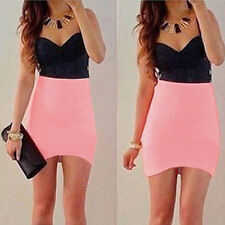 Sexy Women Summer Bandage BodyCon Evening Party Cocktail Casual Short Mini Dress