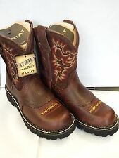 NEW ARIAT 10014035 LADIES FATBABY ORIGINAL FIDDLE LEATHER COWBOY BOOTS