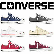 Convers Mens Womens Unisex All Stars Low Tops Chuck Taylor Trainers Shoes