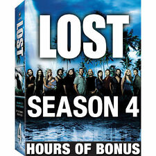 Lost - The Complete Fourth Season Expanded (DVD, 2008, 6-Disc Set) NEW & SEALED
