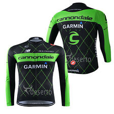 2015 new Thermal Fleece long sleeve Mens team cycling jersey winter Fit