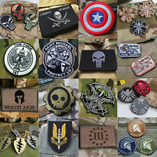 Outdoor Hunting COMBAT TACTICAL Embroidered BADGE MORALE VELCRO MILITARY PATCH