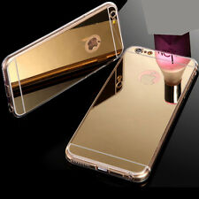COQUE HOUSSE ETUI Luxury Silicone Ultra-thin TPU Mirror For iPhone 6s / Plus