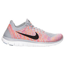 Nike Free 4.0 Flyknit Women's Running Shoes (717076-002) (Size 5.5-11) Wolf Grey