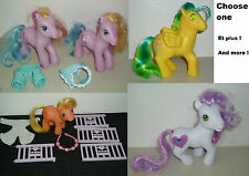 Petit poney My Little Pony Toola roola G3, G1 BABY APPLEJACK + autres choose one